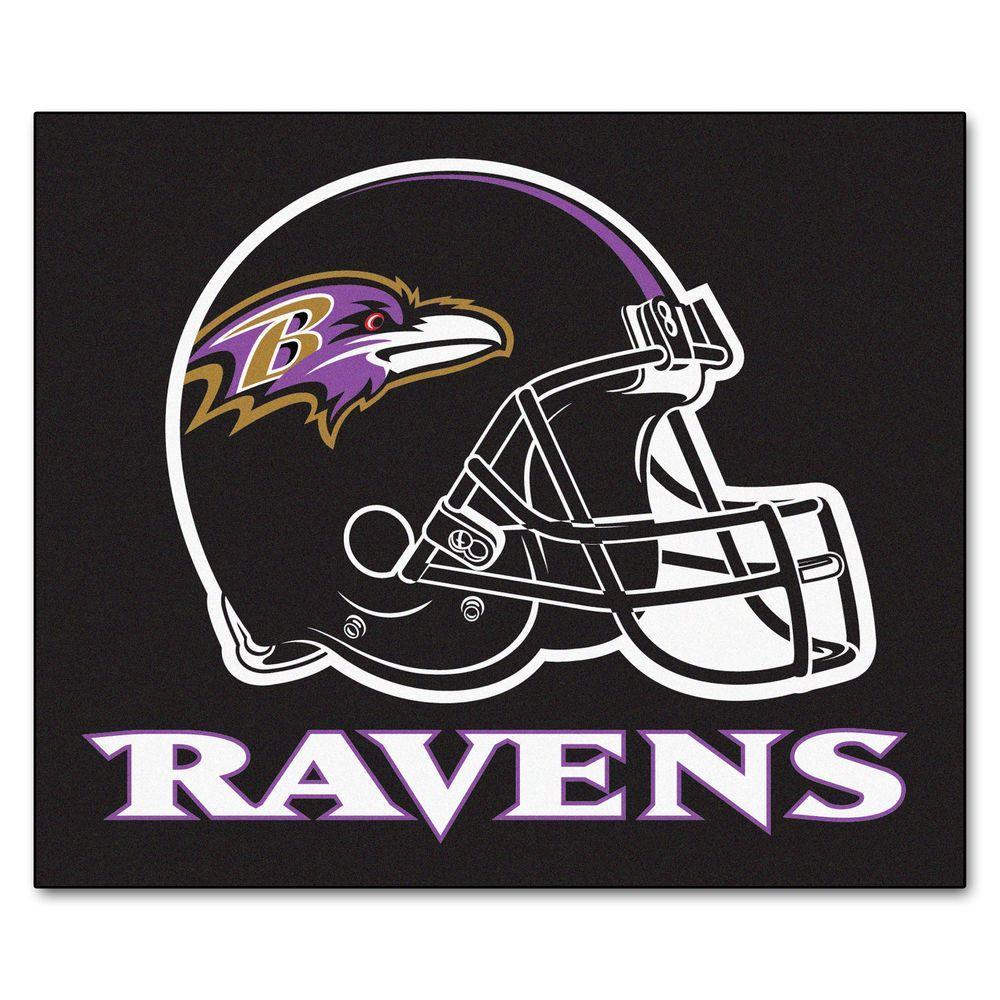 Fanmats Baltimore Ravens 5 Ft X 6 Ft Tailgater Rug 5678