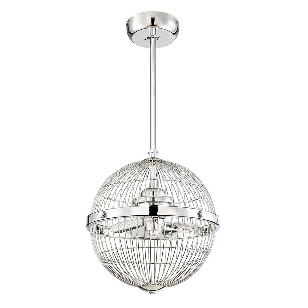 Filament design 17 in chrome ceiling fan cli sh267307 the home depot chrome ceiling fan aloadofball Gallery
