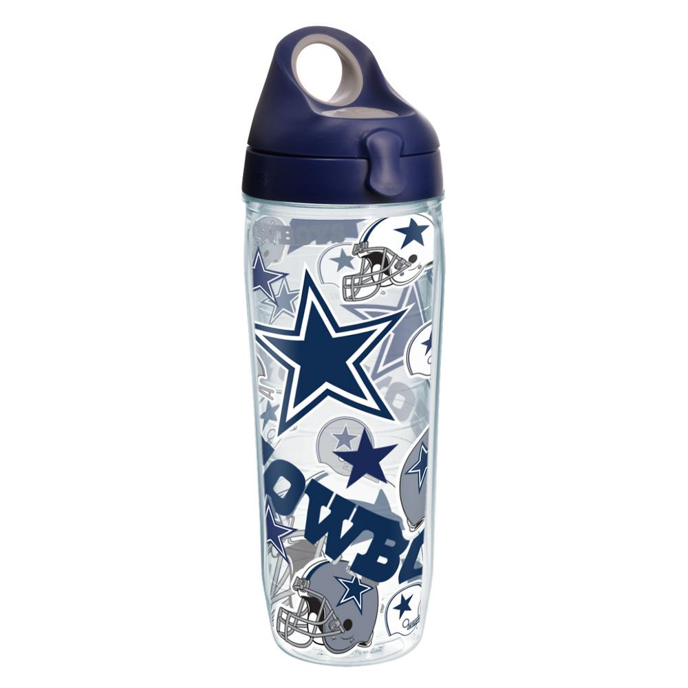 NFL Dallas Cowboys All Over 24 oz. Double Walled Insulated Water