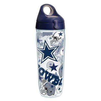 NFL Dallas Cowboys All Over 24 oz. Double Walled Insulated Water Bottle