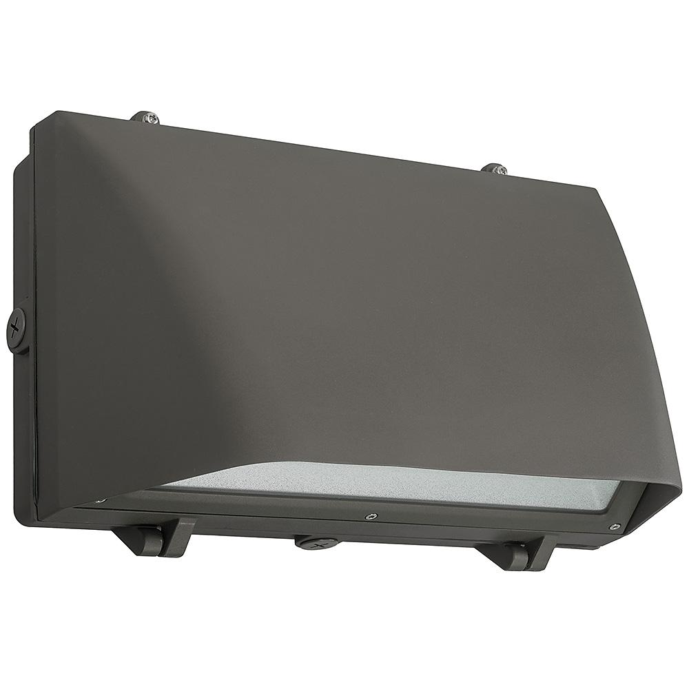 Metal Halide Lights Home Depot: ETi 16 In. Bronze Outdoor Security Integrated LED Wall