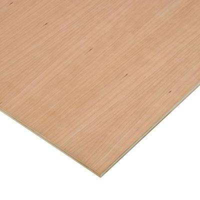 1/2 in. x 4 ft. x 4 ft. PureBond Cherry Plywood Project Panel (Free Custom Cut Available)