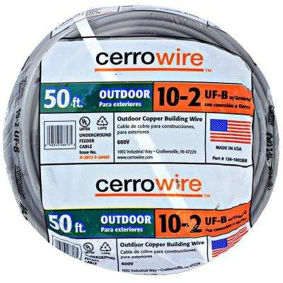 10 2 Wire >> Outdoor Electrical Wires Wire The Home Depot