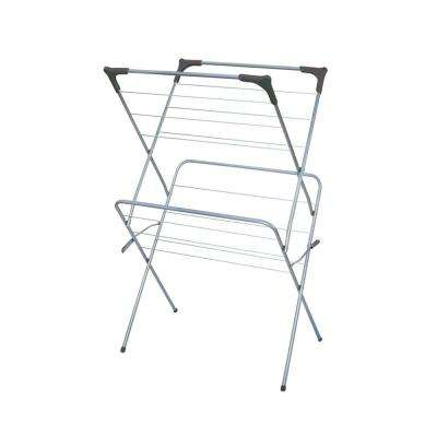 18.5 in. x 24.5 in. Grey Clothes Rack