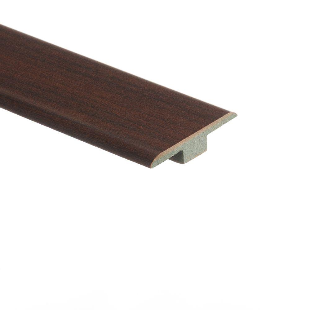 Zamma Maple Chocolate 7/16 in. Thick x 1-3/4 in. Wide x 72 in. Length Laminate T-Molding