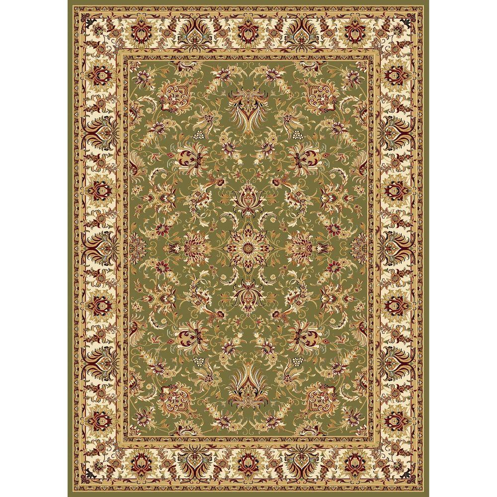 Williams Collection Ararat Green 7 ft. 10 in. x 10 ft.
