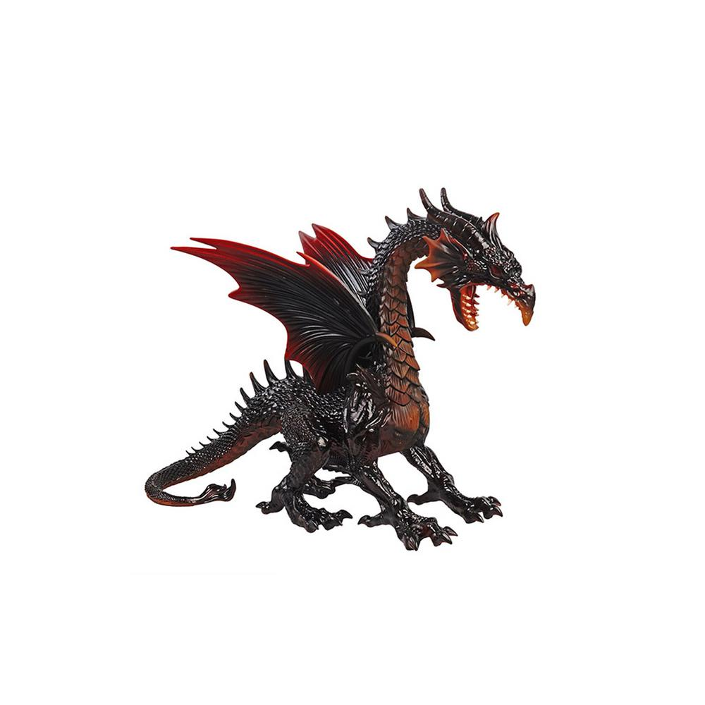 19 in. Fire Dragon with LED Eyes