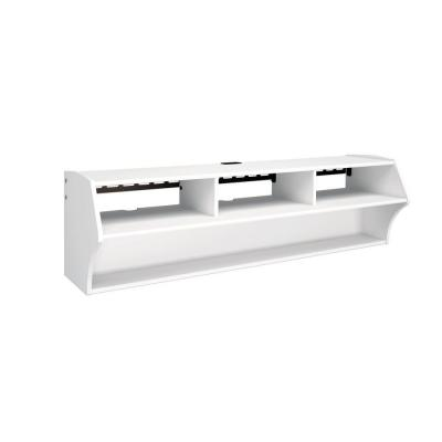 Altus White Storage Entertainment Center