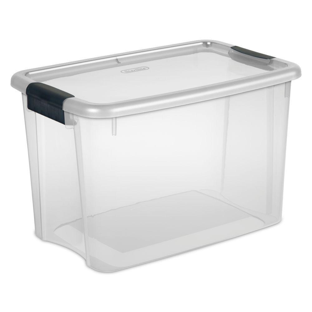 30 Qt Latch Storage Box