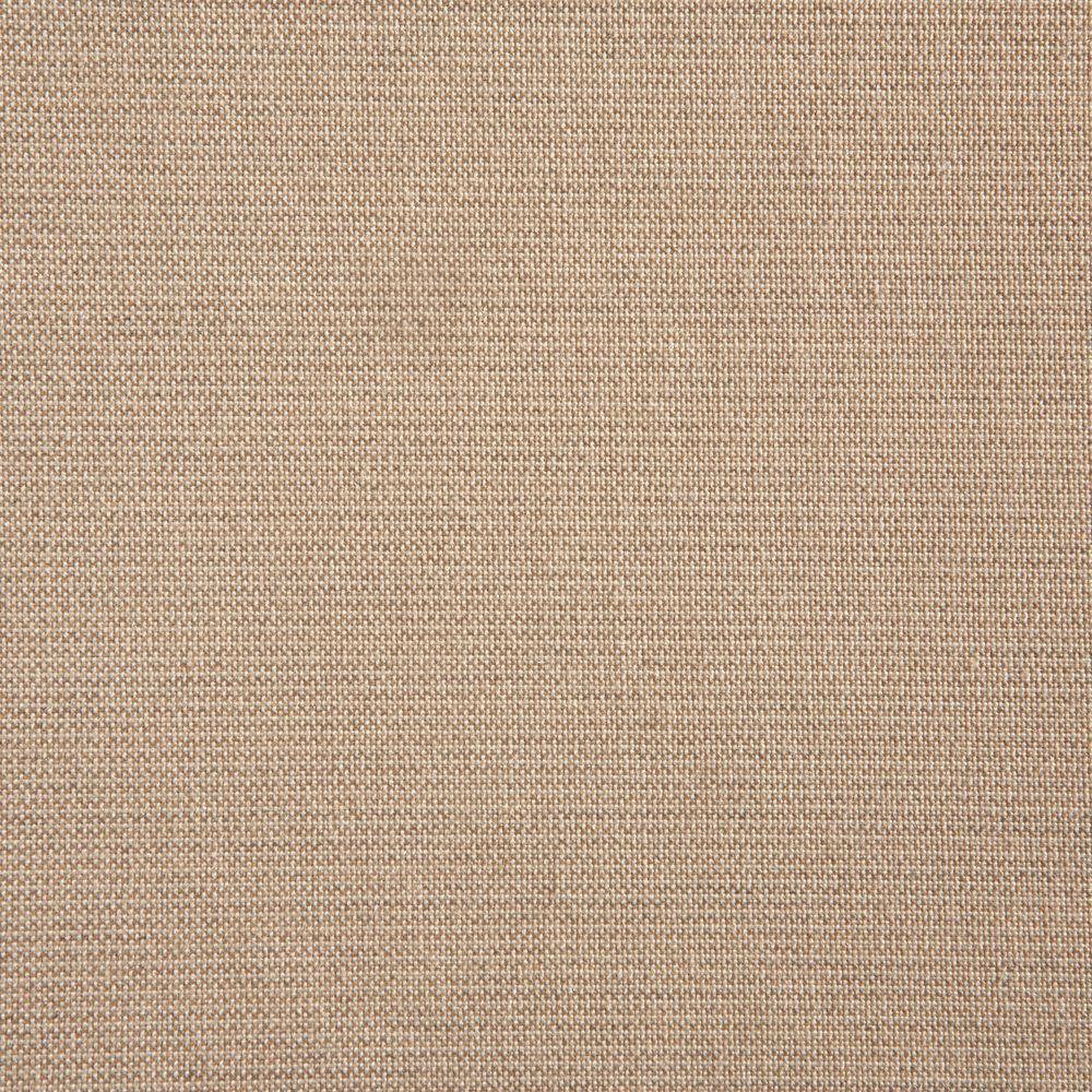 Hampton Bay Edington Parchment Patio Ottoman Slipcover (2-Pack) by Hampton Bay
