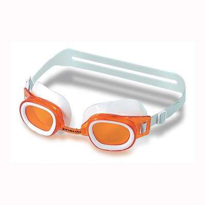 St. Lucia Assorted Colors Youth/Adult Recreational Swim Goggle