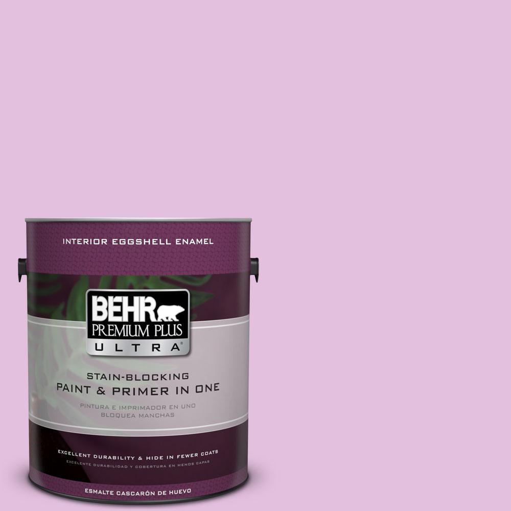 BEHR Premium Plus Ultra 1-gal. #P110-2 Girl Talk Eggshell Enamel Interior Paint