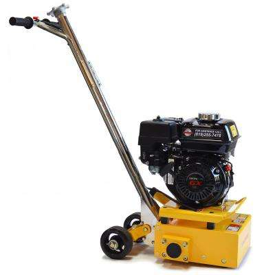 8 in. Gas Concrete Scarifier Planer Grinder 5.5 HP Honda Engine