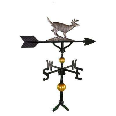32 in. Deluxe Swedish Iron Buck Weathervane