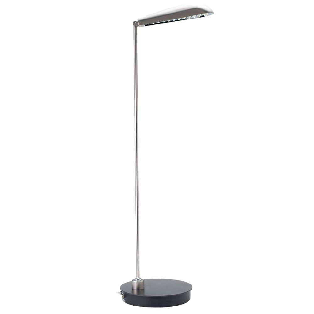 Eurofase Mimas Collection 32 in. Graphite Black LED Table Lamp