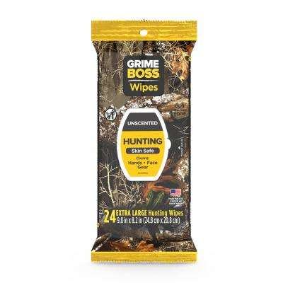 24-Count Realtree Unscented Hand Wipes