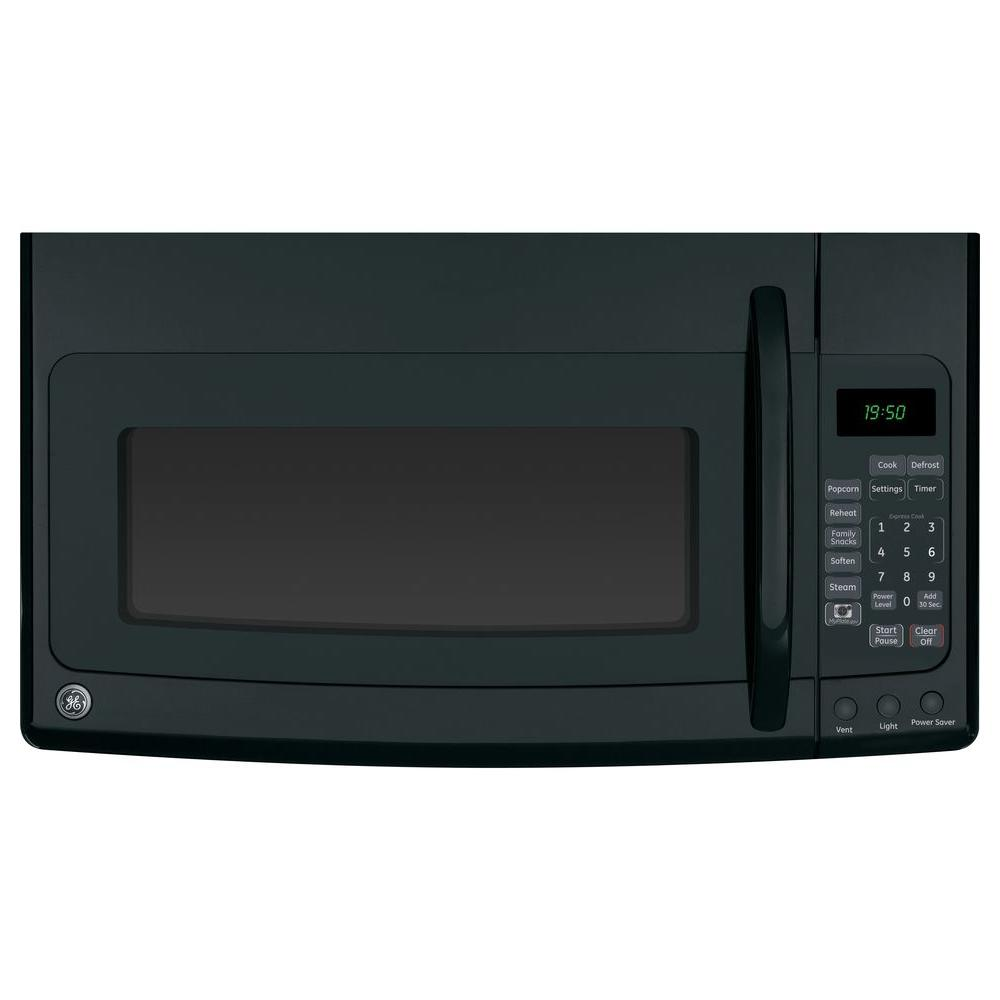 GE Spacemaker 1.9 cu. ft. Over-the-Range Microwave in Black