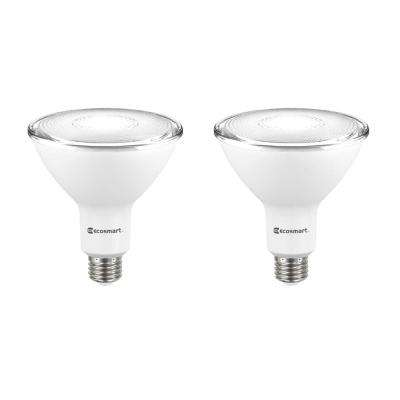 120-Watt Equivalent PAR38 Dimmable Energy Star Flood LED Light Bulb Bright White (2-Pack)