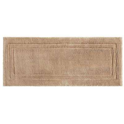 Imperial 24 in. x 60 in. Cotton Runner Bath Rug in Barley
