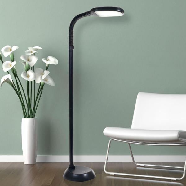 Led Sunlight Floor Lamp With Dimmer