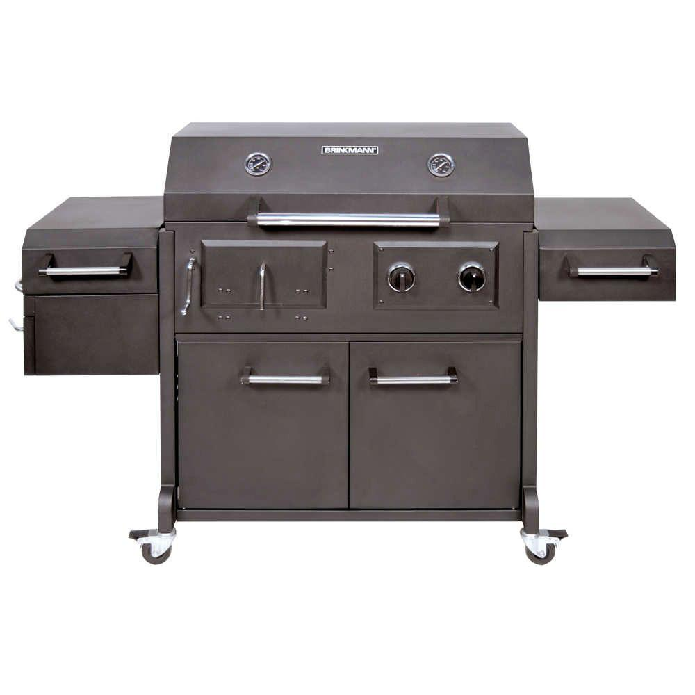 Brinkmann Triple Function Propane Gas / Charcoal Grill and Smoker