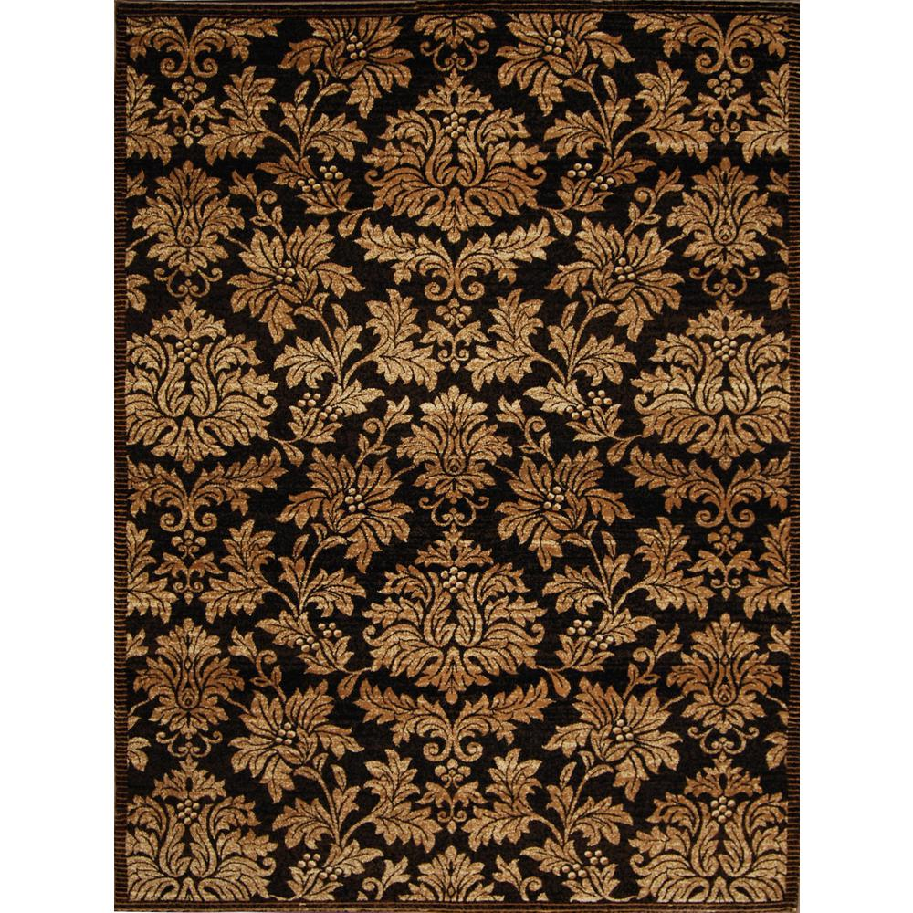 Triumph Brown/Gold 7 ft. 9 in. x 10 ft. 2 in.