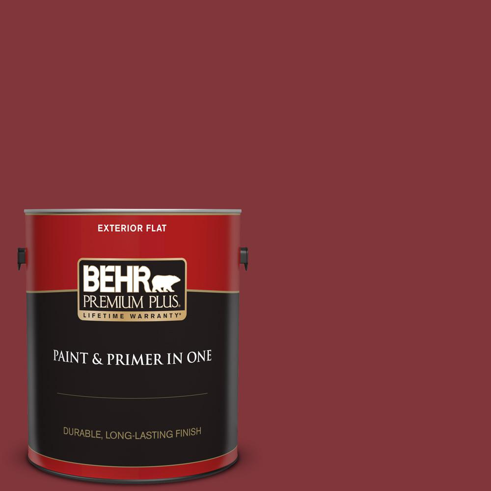 S H 170 Red Brick Flat Exterior Paint And Primer In One