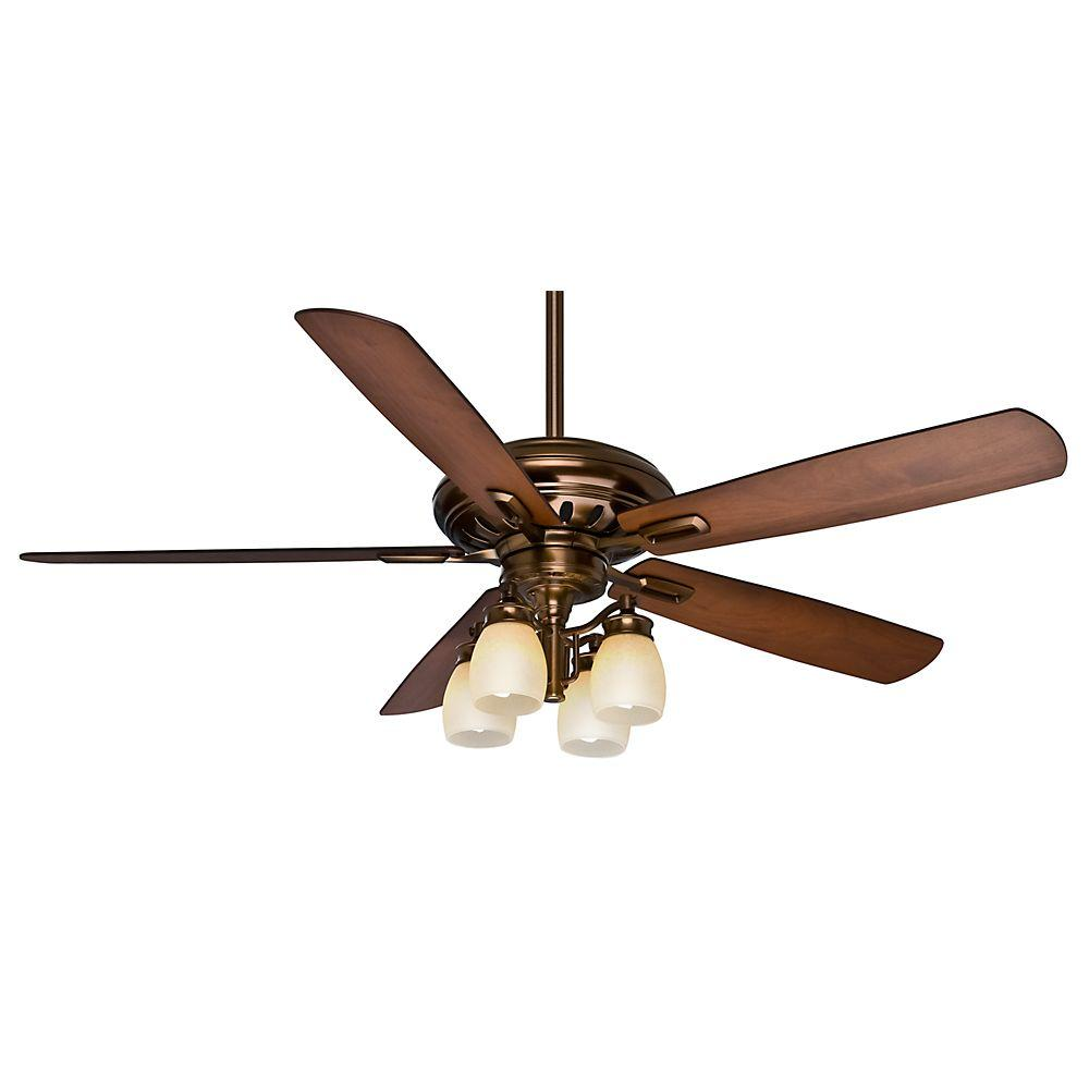 casablanca holliston gallery 60 in bronze patina ceiling fan 59536 the home depot. Black Bedroom Furniture Sets. Home Design Ideas