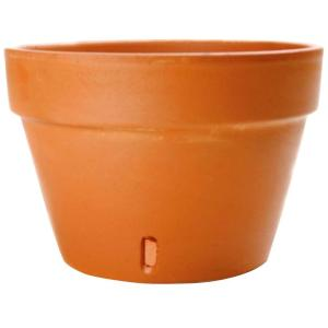 6.75 in. Terra Cotta Clay Orchid Pot