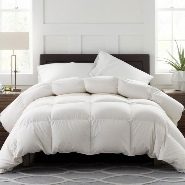 Legends Luxury Geneva Medium Warmth White Queen Goose Down Comforter