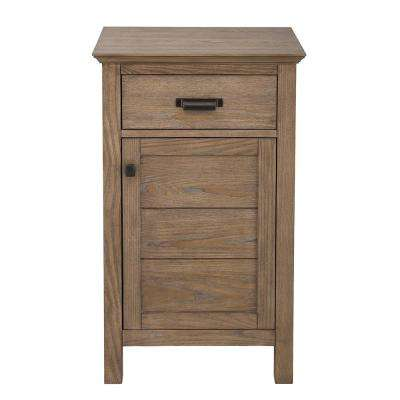Stanhope 20 in. W x 35 in. H Floor Cabinet in Reclaimed Oak