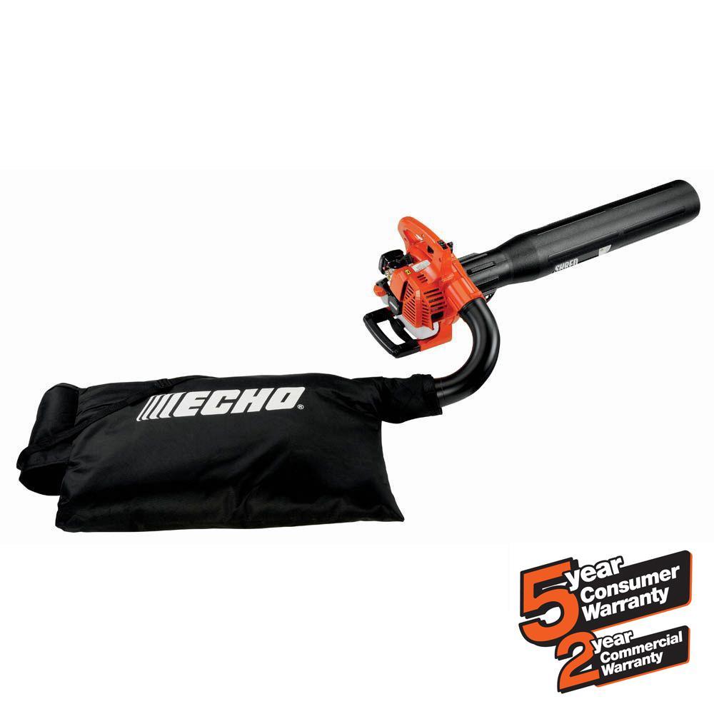 165 MPH 391 CFM 25.4cc Gas 2-Stroke Cycle Leaf Blower Vacuum
