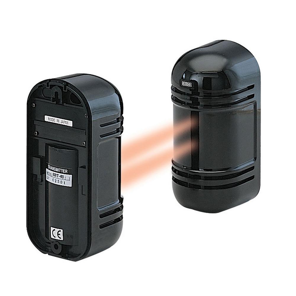 Wired Indoor/Outdoor Photoelectric Dual Beam Motion Sensor up to 550 ft. (Indoor) /180 ft. (Outdoor)