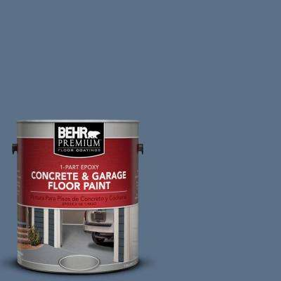 1 gal. #S520-6 Layers of Ocean 1-Part Epoxy Concrete and Garage Floor Paint