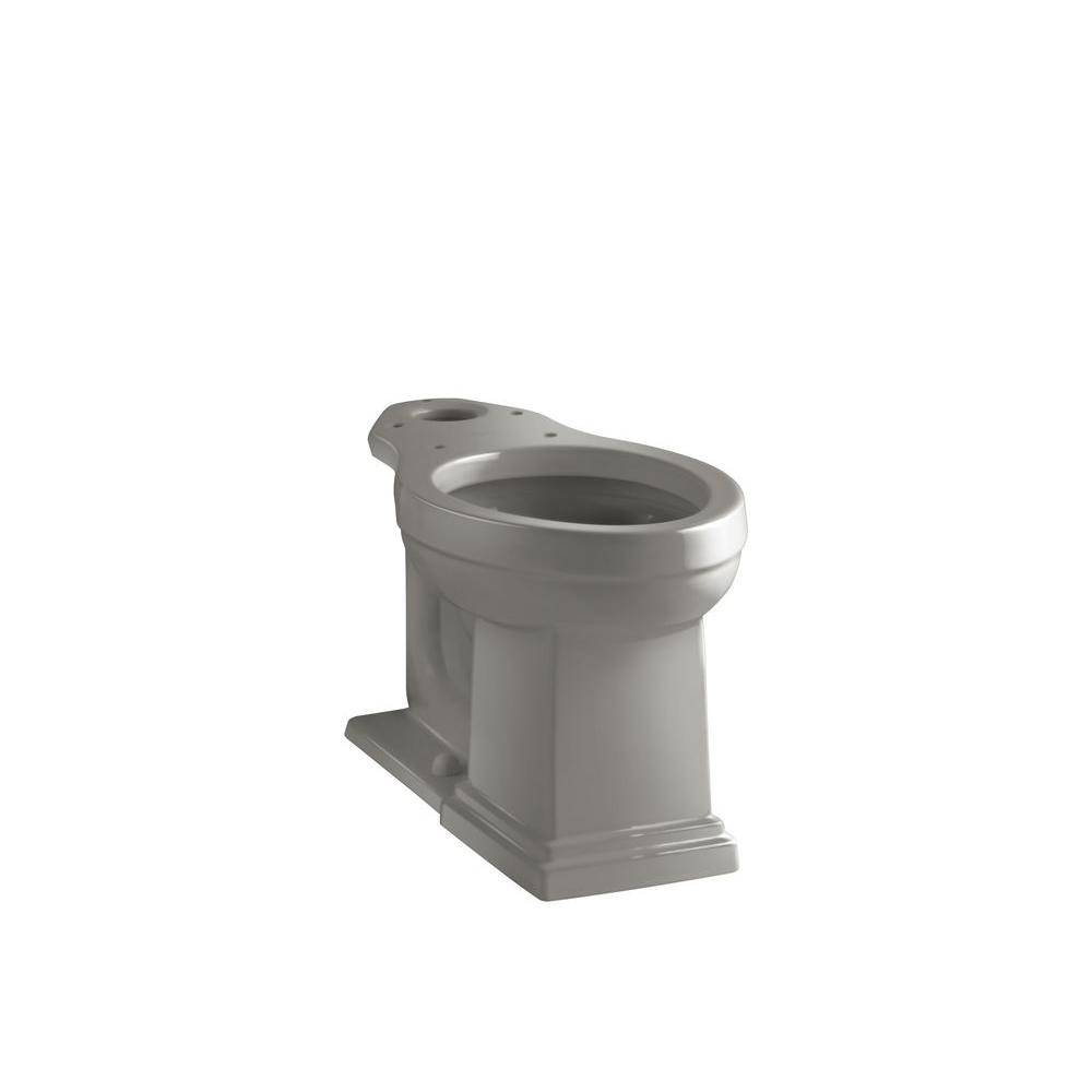 KOHLER Tresham Comfort Height Elongated Toilet Bowl Only in Cashmere