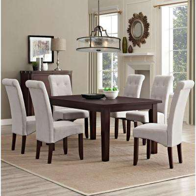 Cosmopolitan 7-Piece Natural Dining Set