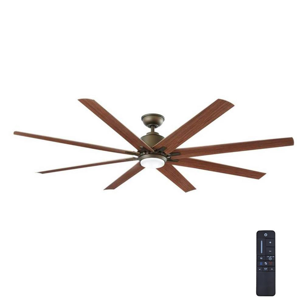 Home Decorators Collection Kensgrove 72 In Led Indoor Outdoor Espresso Bronze Ceiling Fan With