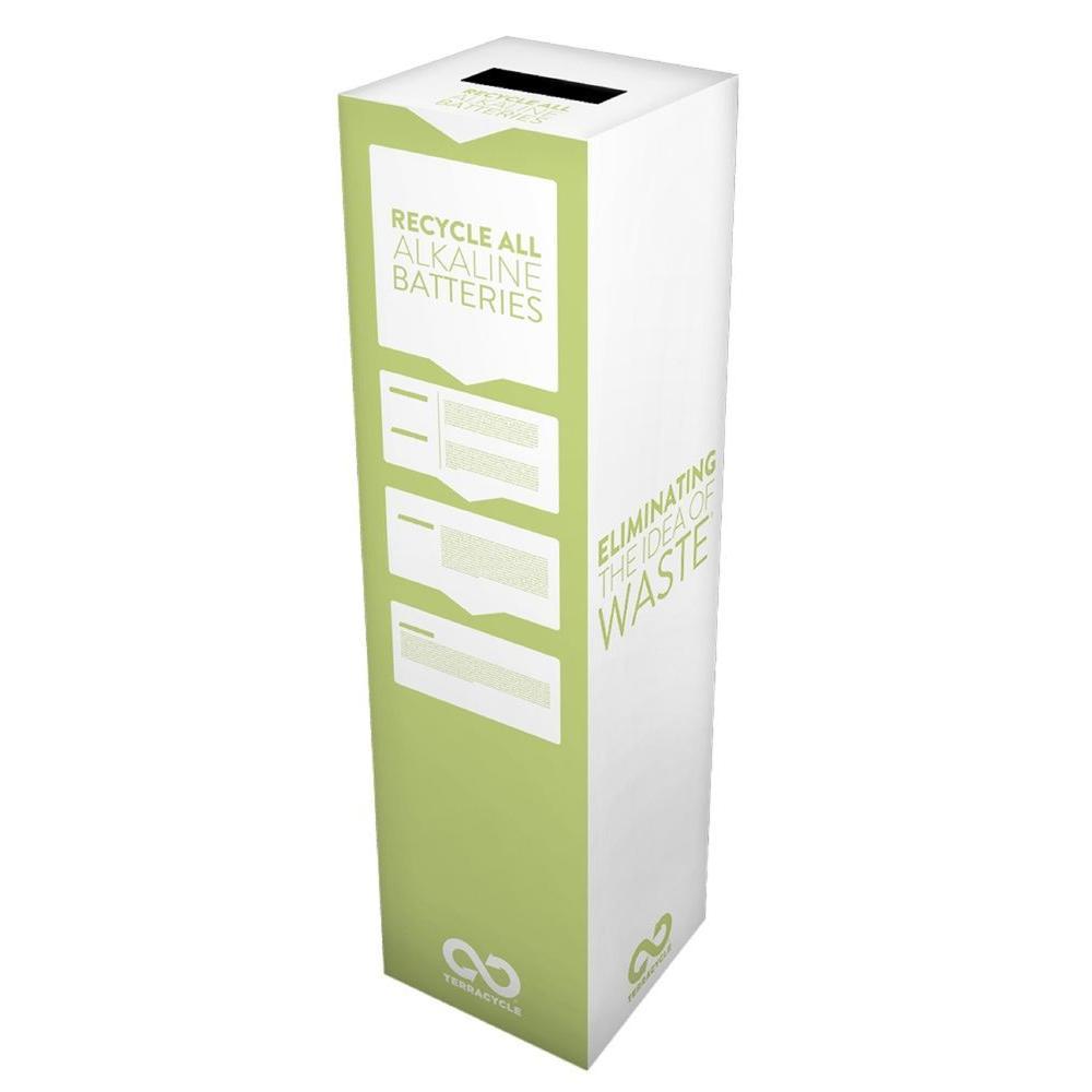 Alkaline Batteries Zero Waste Box
