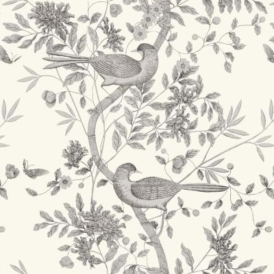 8 in. x 10 in. Sharpay Cream Trail Wallpaper Sample