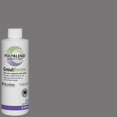 Polyblend #19 Pewter 8 fl. oz. Grout Renew Colorant