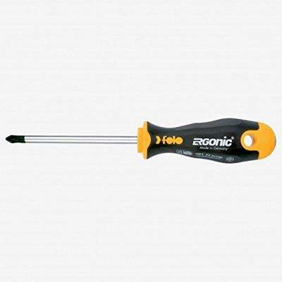 4 in. Ergonic PoziDrive #2 Round Screwdriver