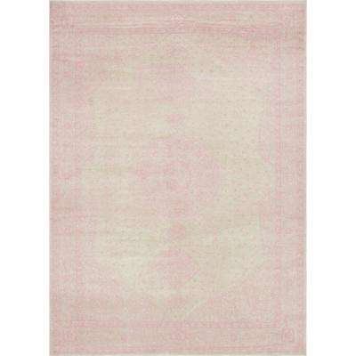Pink 9 ft. x 12 ft. Bromley Area Rug