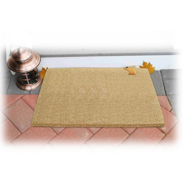 Plain 22 In X 36 Coir Door Mat