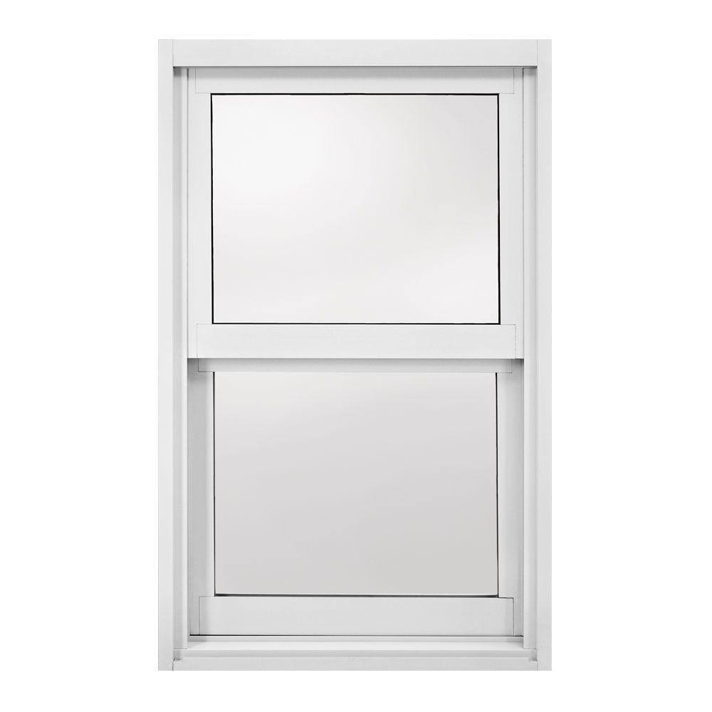 23.5 in. x 47.5 in. A-200 Series 2040 Single Hung Aluminum