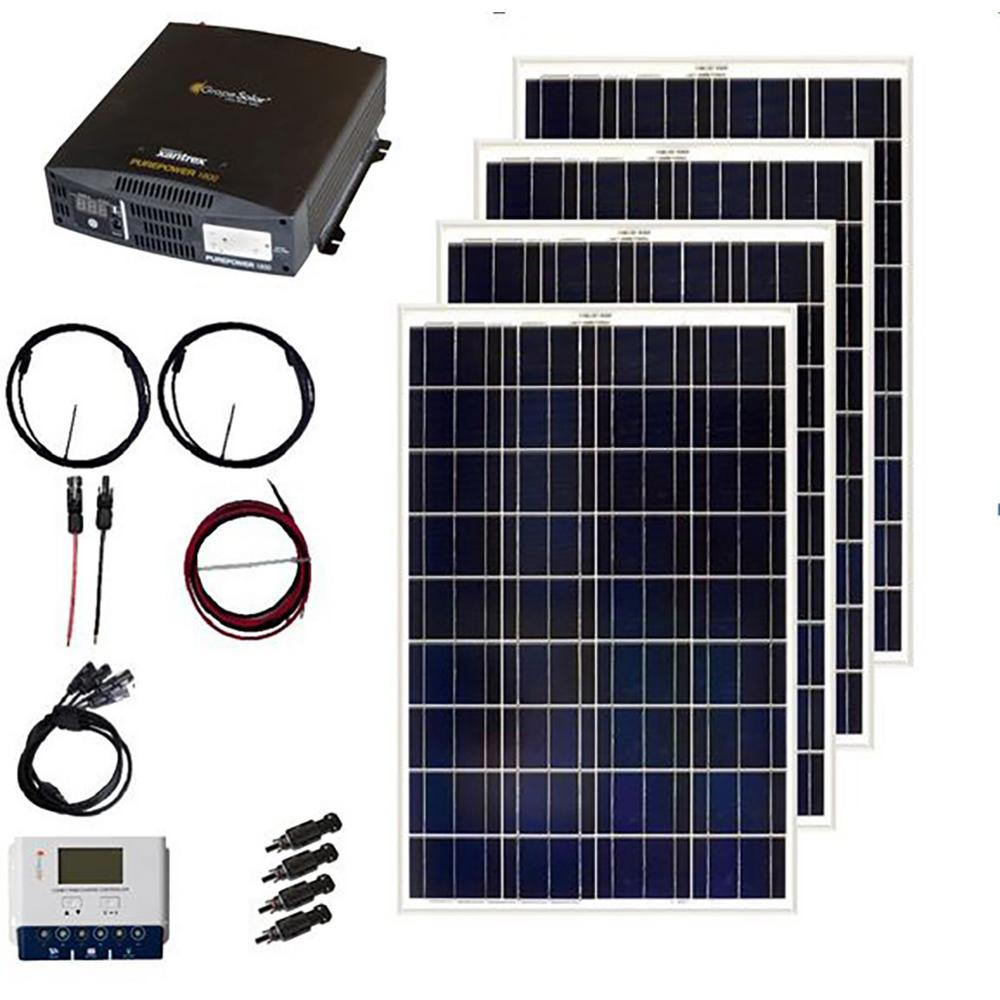 Grape Solar 400 Watt Off Grid Panel Kit