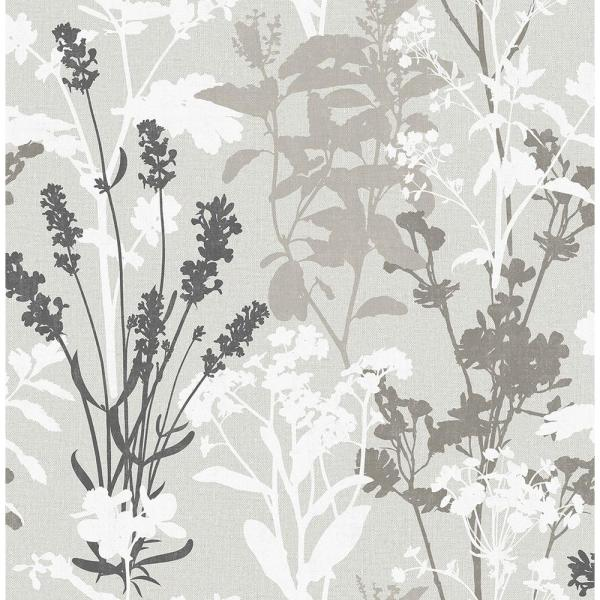 Advantage 56.4 sq. ft. Santa Lucia Multicolor Wild Flowers Wallpaper 2811-24571