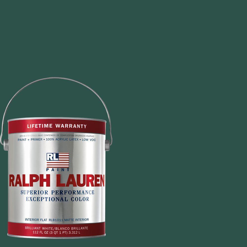 Ralph Lauren 1-gal. British Racing Green Flat Interior Paint