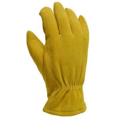 Winter Camel Suede Deerskin Large 40 g Thinsulate Gloves