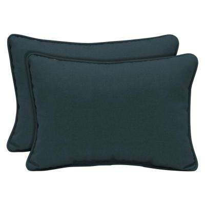 Atlantis Woven Outdoor Lumbar Pillow (2-Pack)