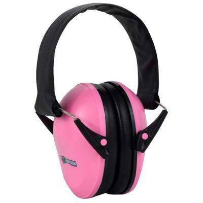 Ear Muff Hearing Protection in Pink